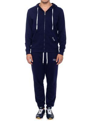 Синий спортивный костюм Trussardi Jeans