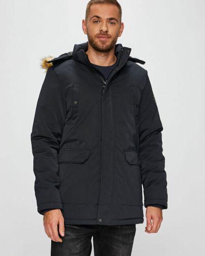 Утепленная куртка с капюшоном укороченная Blend