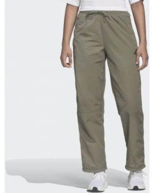 Спортивные брюки свободные с поясом Adidas