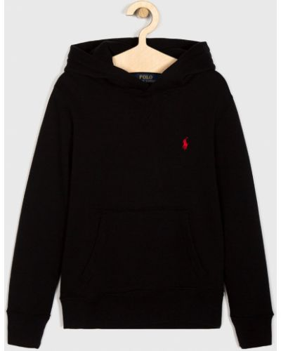 Поло прямой черный Polo Ralph Lauren