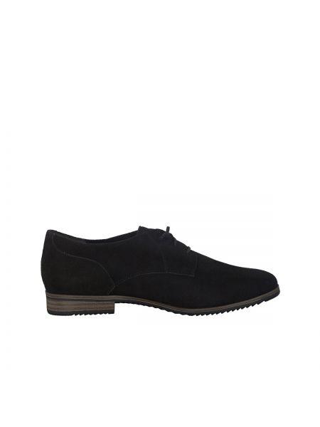 Ботинки на шнуровке кожаные Tamaris