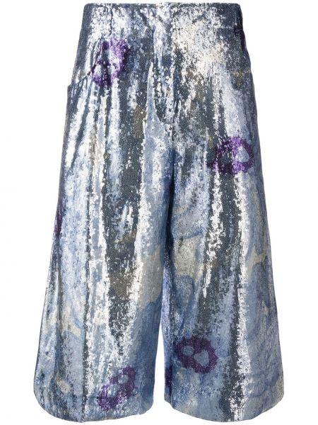 Szerokie spodnie przycięte z kieszeniami Jacquemus