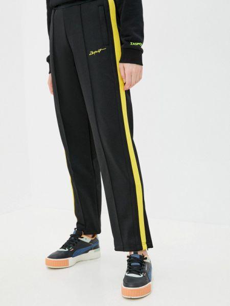 Спортивные брюки черные весенний Zasport