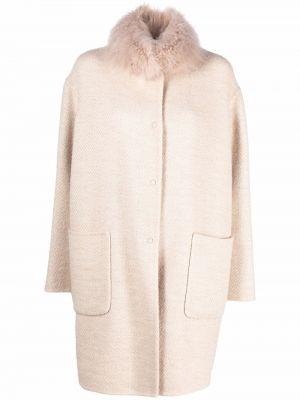 Пальто с воротником Manzoni 24