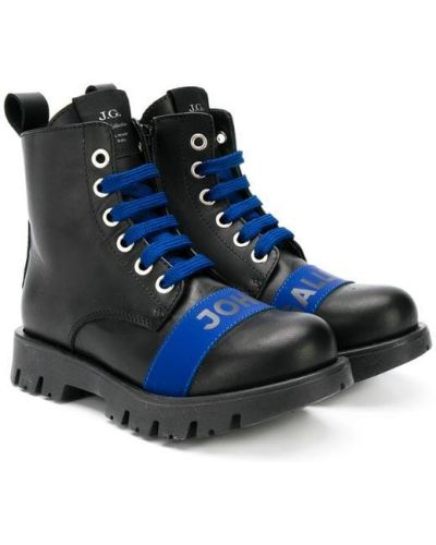 Ботинки черные John Galliano Kids