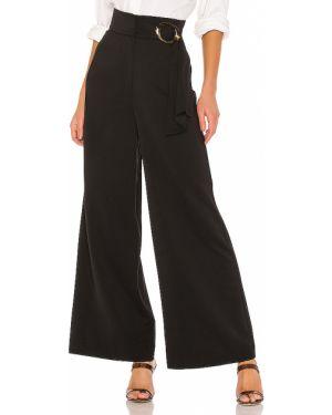 Czarne spodnie z paskiem klamry C/meo