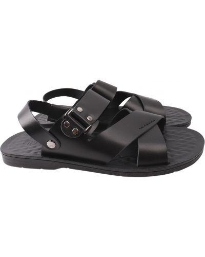 Кожаные сандалии - черные Tibet