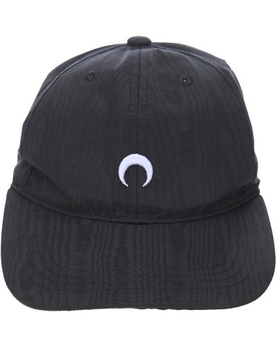 Czarna czapka z daszkiem Marine Serre