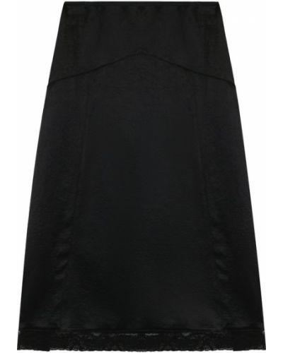 Черная юбка миди Mcq