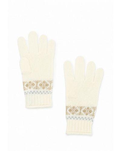 Белые перчатки United Colors Of Benetton