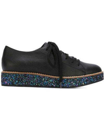 Черные кожаные туфли Minimarket