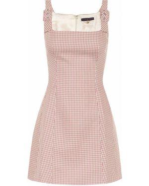 Платье мини розовое винтажная Alexachung