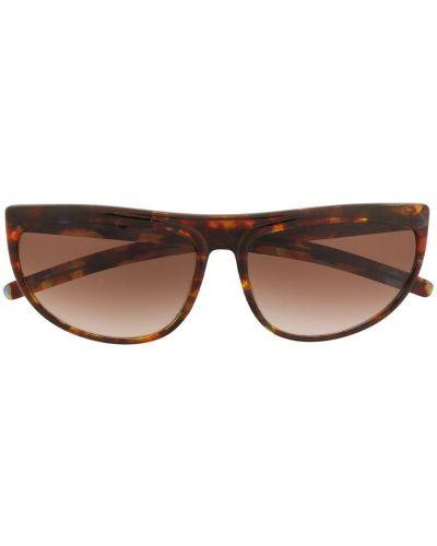 Прямые муслиновые солнцезащитные очки Krizia Pre-owned
