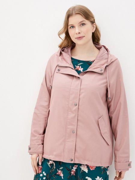 Розовая облегченная куртка Zizzi
