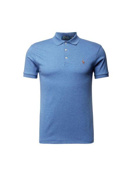 Niebieska polo bawełniana Polo Ralph Lauren
