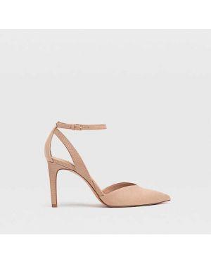 Туфли на каблуке с ремешком Stradivarius