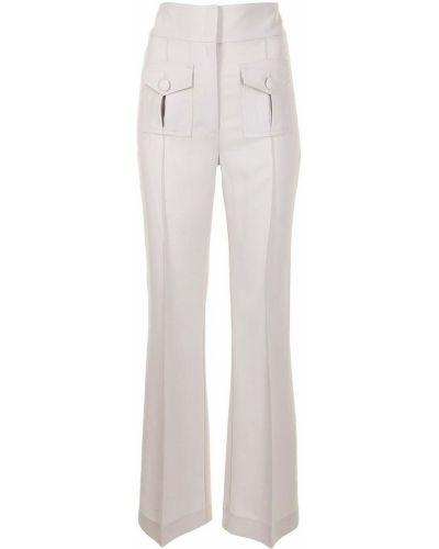 С завышенной талией прямые брюки с карманами Alice Mccall