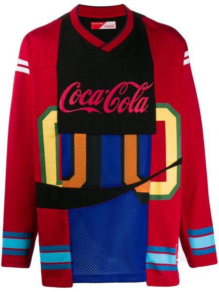 Czarny sweter bawełniany z długimi rękawami Facetasm