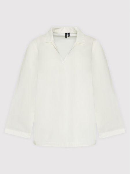 Biała bluzka Vero Moda Curve