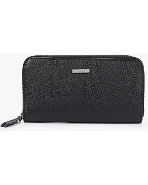 Кожаный кошелек - черный Pulicati