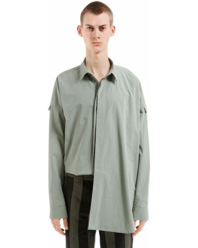 Klasyczna zielona klasyczna koszula bawełniana Damir Doma