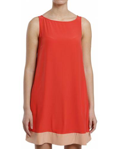 Коралловое платье Tru Trussardi