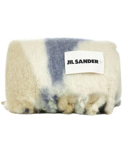 Niebieski szalik Jil Sander