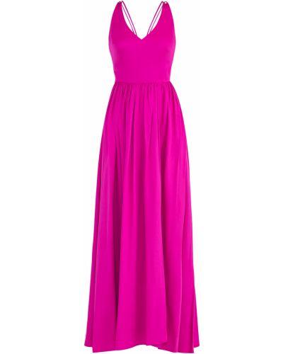 Платье с V-образным вырезом со складками Tara Jarmon