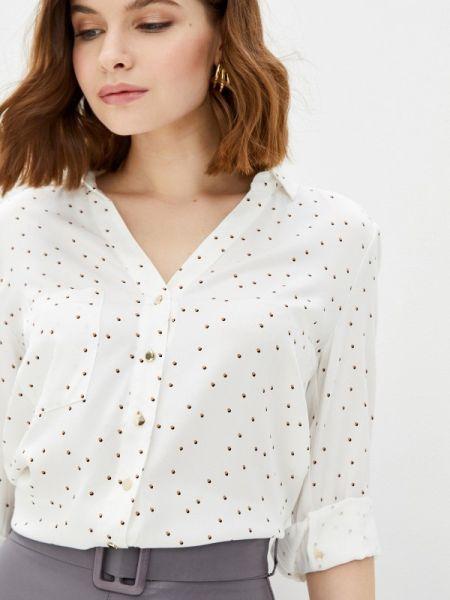 Белая блузка с длинным рукавом Vilatte
