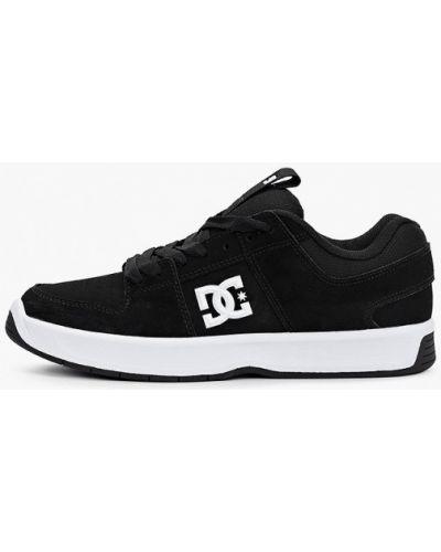 Черные кожаные низкие кеды Dc Shoes