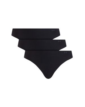 Czarne stringi z nylonu Under Armour