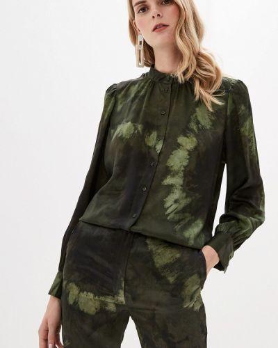 Блузка с длинным рукавом зеленый хаки Mango