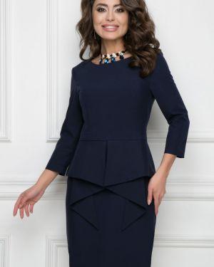 Деловое платье классическое со складками Bellovera