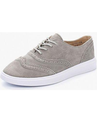 Серые ботинки Inario