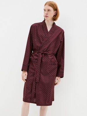Домашний халат - бордовый Marks & Spencer