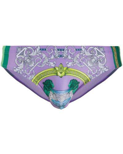 Kąpielówki, zielony Versace
