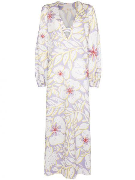 Biała sukienka bawełniana Racil
