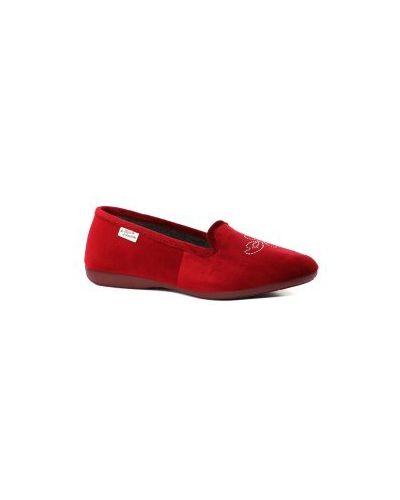 Тапочки красные бордовый La Maison De L'espadrille