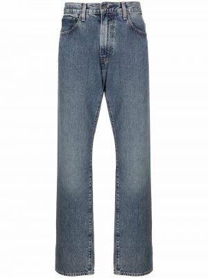 Синие джинсовые прямые джинсы Levi's®  Made & Crafted™