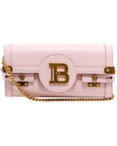 Złota kopertówka - różowa Balmain