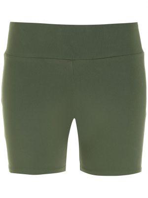 Зеленые шорты из эластана Lygia & Nanny