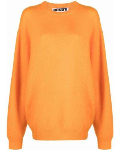 Джемпер из мохера - оранжевый Rotate