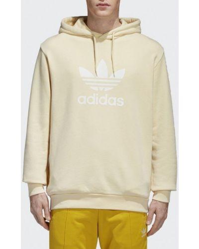 Желтое худи Adidas Originals