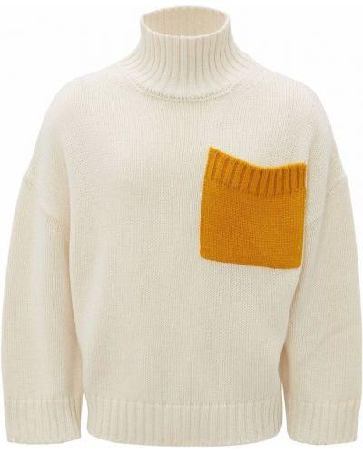 Biały sweter Jw Anderson