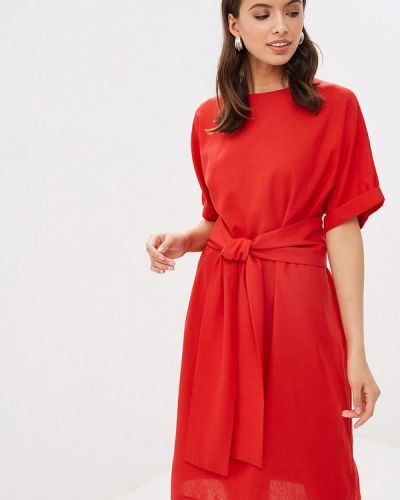 Платье - красное Mirrorstore