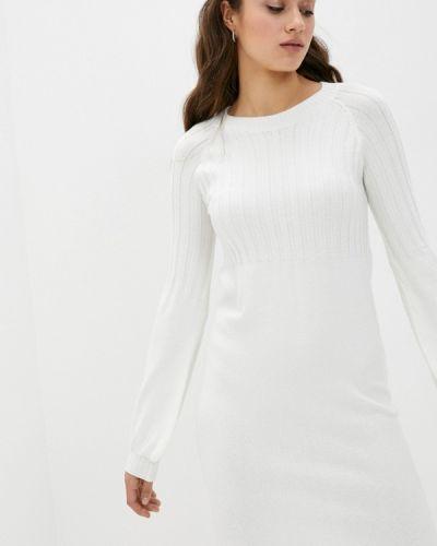 Прямое белое платье Rinascimento