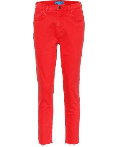 Światło bawełna bawełna zawężony obcisłe dżinsy Mih Jeans