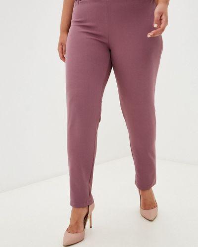 Зауженные брюки - фиолетовые Prewoman