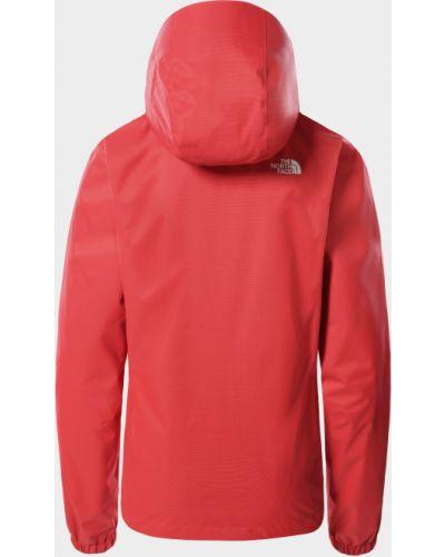 Красная куртка Quest с капюшоном на молнии The North Face