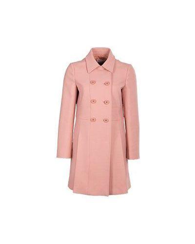 Розовое пальто весеннее Valentino Red